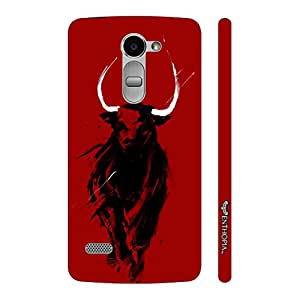 Enthopia Designer Hardshell Case Angry Donny Back Cover for LG Ray
