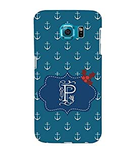 EPICCASE anchor of p Mobile Back Case Cover For Samsung Galaxy S6 (Designer Case)