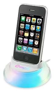 Dr Bott Muvit Zen Chargeur Dock avec LEDs pour iPhone 3G/3GS Blanc
