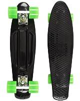 EDGE RETRO SKATEBOARD by TBF - complete plastic cruiser skate board