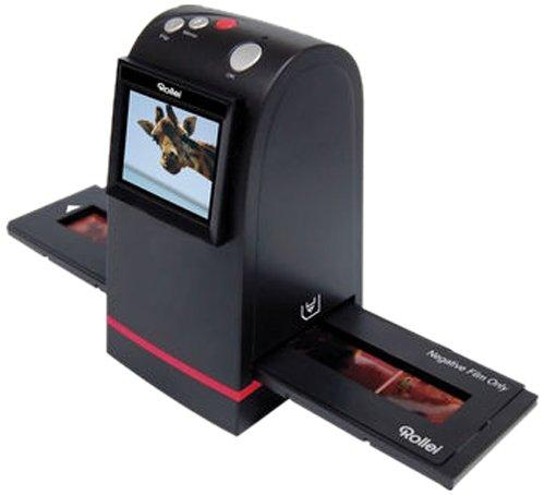 DF-S 100 SE Dia Film Scanner  5 Megapixel  2 4 Farb TFT-LCD inkl. Schlitten für Farbnegative und Schlitten für Dias   für Speicherkarten bis zu 16 GB