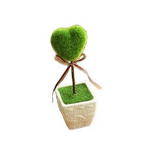 Home Furnishing Decoration Small Bonsai Plants Small Ornaments - Heart