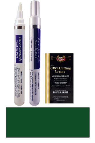 1994 Hyundai All Models Forest Green Pearl Kj Touch Up Paint Pen Kit - Original Factory Oem Automotive Paint - Color Match Guaranteed