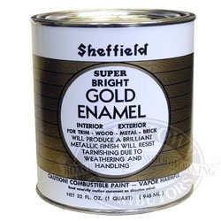 Sheffield 5740 Qt Gold Exterior Interior Metallic Enamel Household Paints And Stains