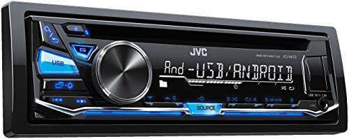 JVC-KD-R472-Autoradio-USBCD-Receiver-mit-Front-AUX-Eingang-schwarz