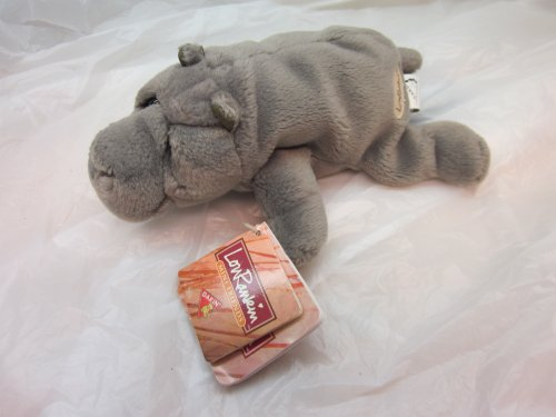 "Dakin Lou Rankin Mini Friends Thurgood Hippo 7"" Plush - 1"