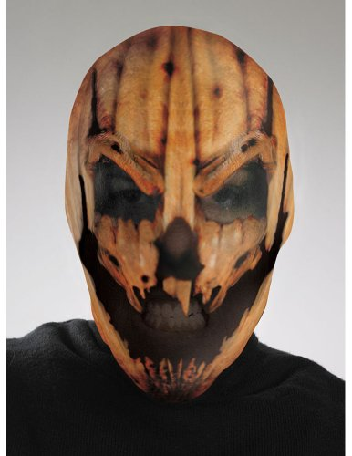 Scary-Masks Scary Pumpkin Mask Halloween Costume - Most Adults