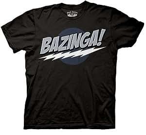 Big Bang Theory Bazinga! - Black - Medium