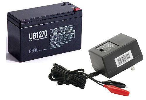 12V 7Ah Replacement Sla Battery For City Bug Sit Down Scooter With Charger