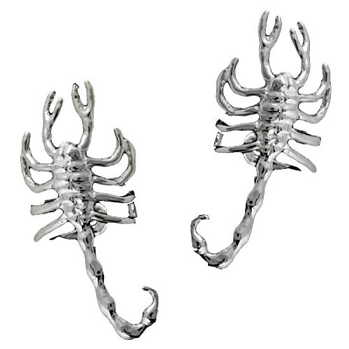 Left And Right Scorpion Ear Cuff Set