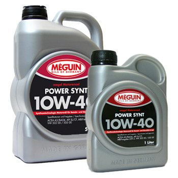 6 (5+1) Liter Meguin/ megol SAE 10W-40 Power