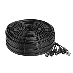 Zmodo Cable W-VPA2050 165feet AWG22 Premade Siamese Video+Power+Audio Retail