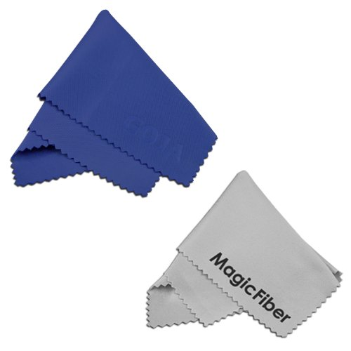 (2 Pack) MagicFiber Microfiber Cleaning Cloths