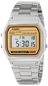 Casio Men's A158WEA-9CF Casual Classic Digital Bracelet Watch
