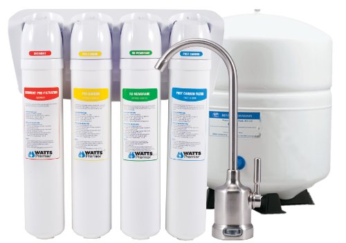 Watts Premier 531418 EZ RO4 Reverse Osmosis with QC 50 GPD Membrane