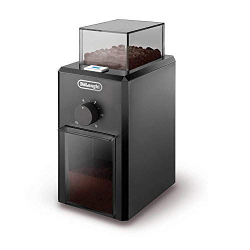 DeLonghi KG79 Professional Burr Electric 12-Cup Burr Grinder,Black