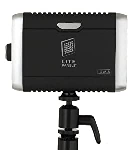 Litepanels Luma LED Light Kit, with 3 Piece Gel Set , Deluxe Ball Head Shoe Mount, Carrying Bag