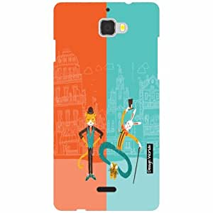 Design Worlds Coolpad Dazen 1 Back Cover - Cartoon Designer Case and Covers