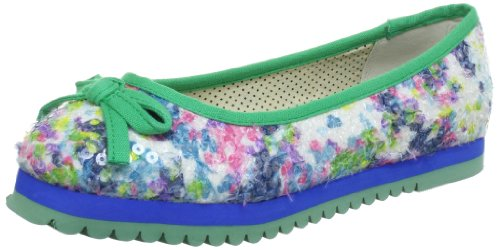 Dolly Do Ballerina Plateau Women blue Blau (blue 03) Size: 4 (37 EU)