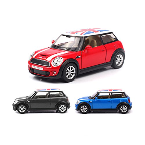 bxt hot newest mini cooper union jack vehicle playset 1 30. Black Bedroom Furniture Sets. Home Design Ideas