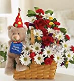 Flowers by 1800Flowers - Lotsa Love Happy Birthday Flowers