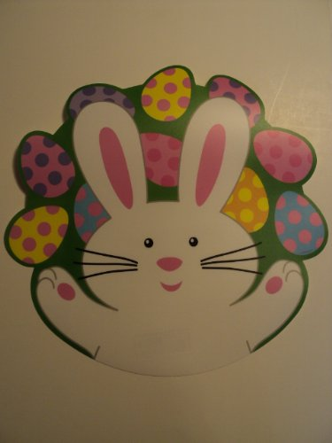Easter Bunny Plastic Placemat Amscan 670204