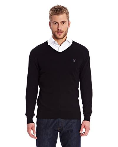 Polo Club Pullover Gentleman V Jersey [Nero]