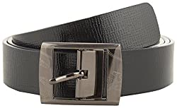 Jackblack Men's Leather Belt (SEVP014, Black, 30)