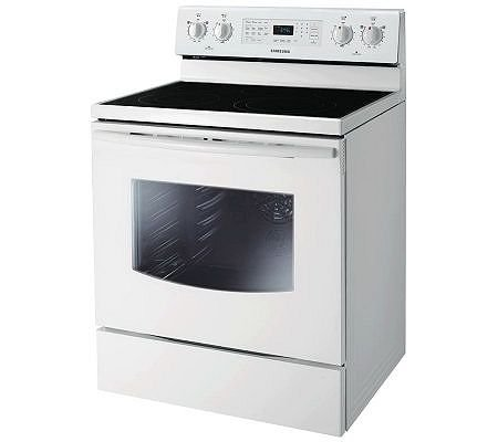 Electric Stove With Convection Oven back-21081