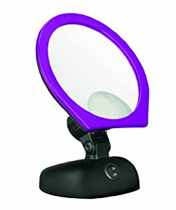 Conair BE12PP Single-Sided Round Mirror, Purple Pansy