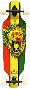 Krown Rasta Freestyle Elite Complete Longboard, 9.25x36-Inch from Krown
