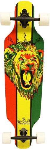 Check Out This Krown Rasta Freestyle Elite Complete Longboard, 9.25x36-Inch