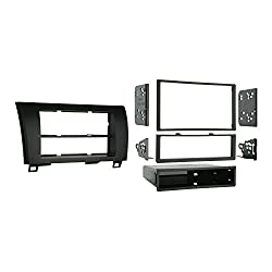 See Metra 99-8220 Single/Double DIN Installation Kit for 2007-2009 Toyota Tundra/Sequoia, Standard Black Details