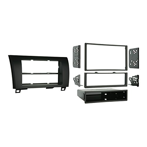 Metra 99-8220 Single/Double DIN Installation Kit for 2007-2009 Toyota Tundra/Sequoia, Standard Black (Metra 99 2009 compare prices)