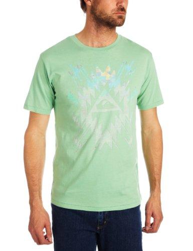 Quiksilver Shortsleeve Thruster Electricity Printed Men's T-Shirt Montauk Small