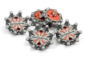 Craftsman Golf 14 Gray Orange Shoe Spike Replacement Cleat Champ Fast Twist Screw... by Craftsman Golf