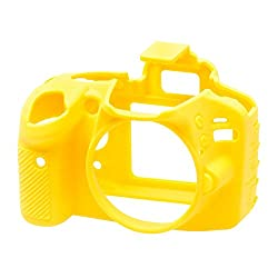EasyCover Camera Case for Nikon D3200 (Yellow)