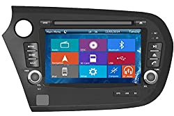 See Crusade Car DVD Player for Honda Insight 2010- Support 3g,1080p,iphone 6s/5s,external Mic,usb/sd/gps/fm/am Radio 7 Inch Hd Touch Screen Stereo Navigation System+ Reverse Car Rear Camara + Free Map Details