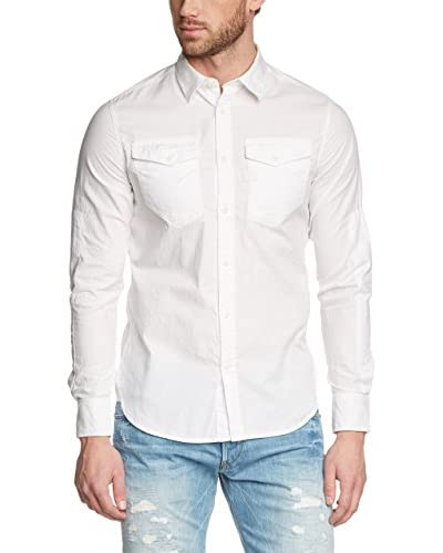 G-Star Camisa Hombre Blanco
