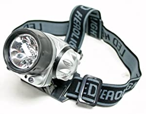 11 Led Waterproof Head Lamp Light Hikingcamping