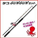 PROTRUST(プロトラスト)タコGUNGUNセット210 【ロッド&リールセット(ライン巻)】