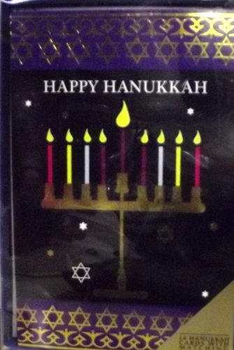 Happy Hanukkah Boxed Cards 14pk