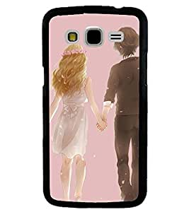 Printvisa Bride And Groom Walking Back Case Cover for Samsung Galaxy J7::Samsung Galaxy J7 J700F