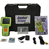GopherScopes S Monitor Kit with Handheld Borescope, Endoscope and Industrial Inspection Camera