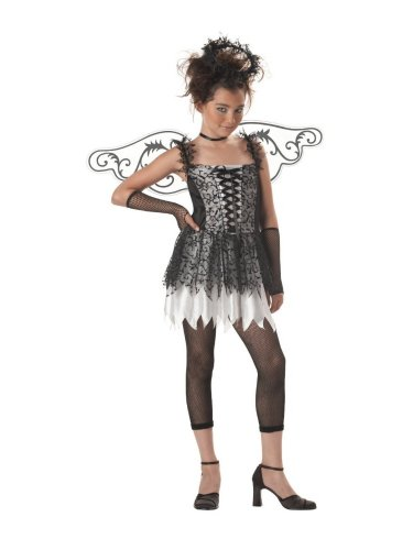 California Costumes Girls Tween Angel Costume with Fishnet Leggings