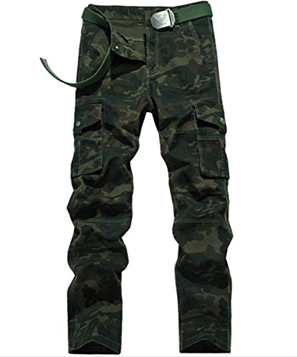 YiJee-Homme-Multi-Poches-Vintage-Style-Combat-Militaire-Camo-Cargo-Pantalons