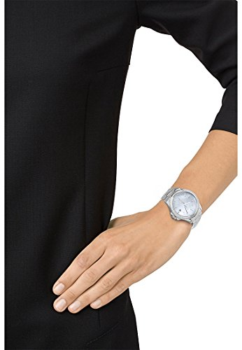 JETTE-Time-Damen-Armbanduhr-Analog-Quarz-One-Size-perlmuttblau-silber