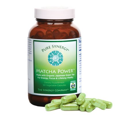 Organic Matcha Power By Pure Synergy 90 Caps