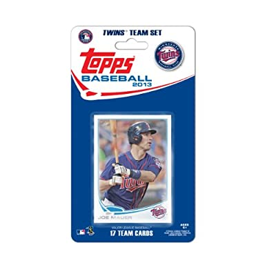 MLB Minnesota Twins Team Trading Card Set