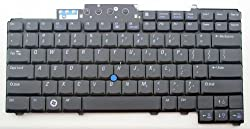 Dell Latitude Laptop Replacement Wired Keyboard for Dell D620 D630 D631 D820 Precision M65 M2300 M4300 Series UC172 0UC172 DR160 0DR160